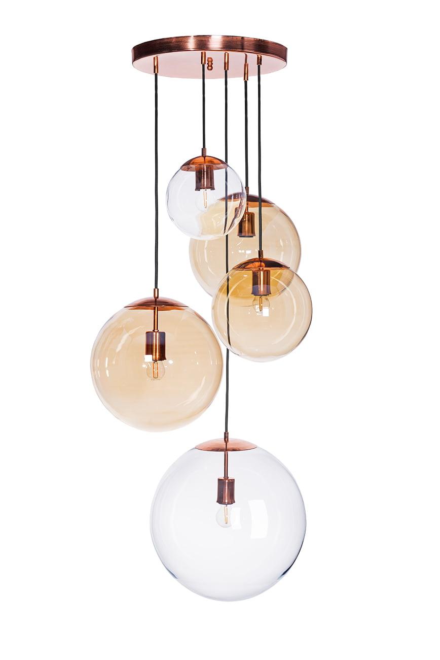Cluster Pendant Ceiling Light Muna Copper Dining Room Luxury Chandelier