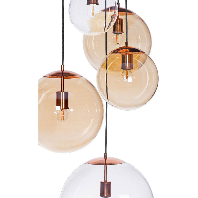 copper dining room light MUNA
