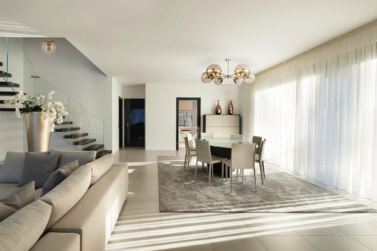 Hand Blown Glass Light Pendants Muna For Low Ceiling Luxury Chandelier