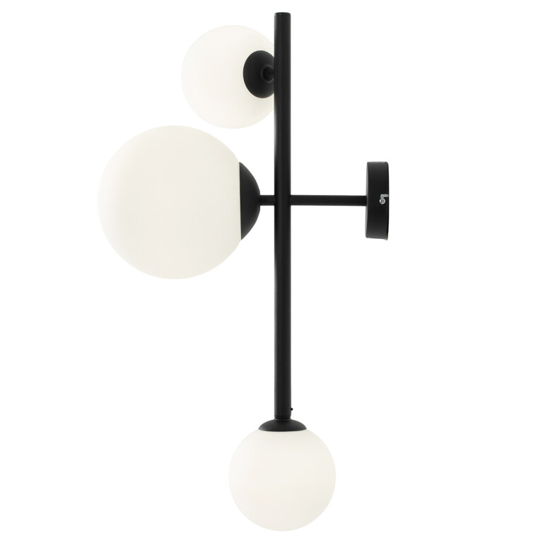 Lighting house BALIA 3 light wall light black