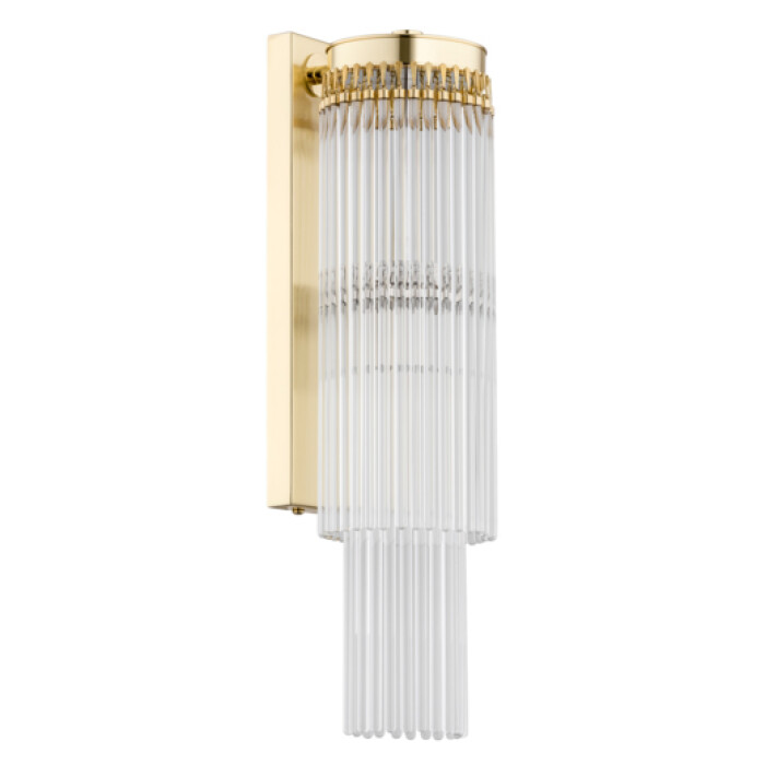 Bespoke lighting FILAGO 1 light glass wall light in gold