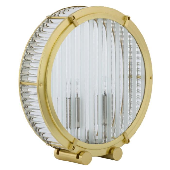 Bespoke lighting LAURIA designer glass table lamp in gold