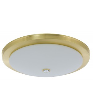 Bespoke lighting DIMARO ceiling flush light in gold with crystal