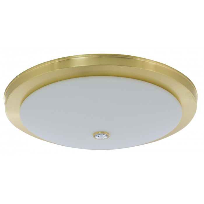 Bespoke lighting DIMARO ceiling flush light in gold with crystal