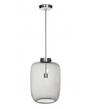 glass house LAUT glass light pendant in ash colour