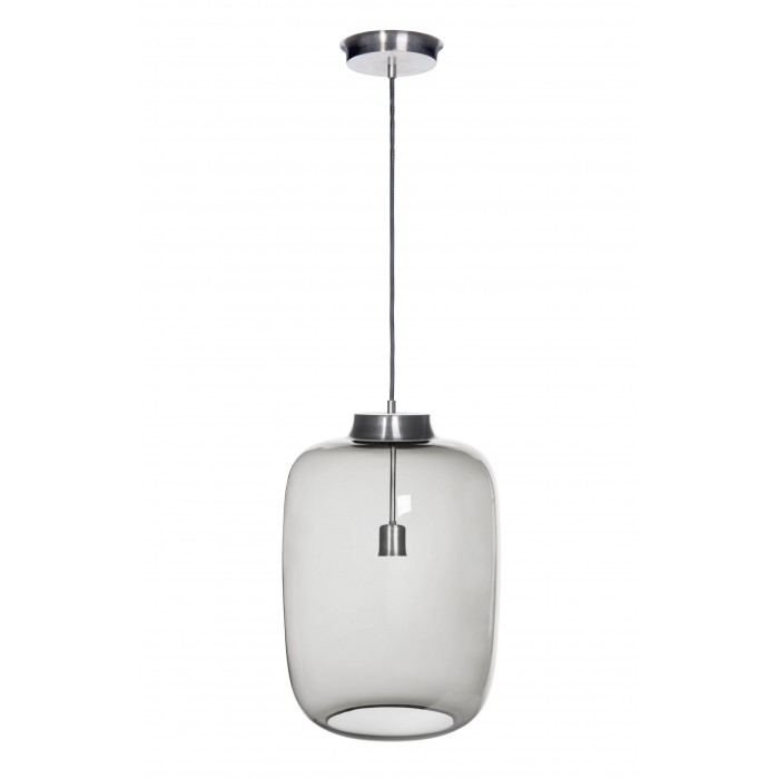 glass house LAUT glass light pendant in ash colour