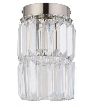 Bespoke lighting ELLINI crystal spot lighting in nickel