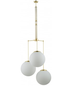 lighting room ARTU 9 glass pendant light in gold