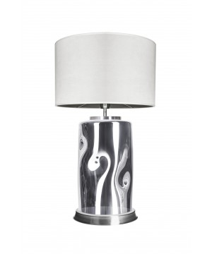 glass house RUU glass bedside table lamp with shade