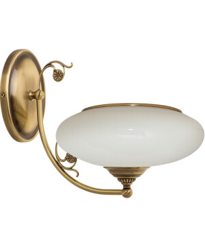 Bespoke lighting CASAMIA GLASS brass wall light