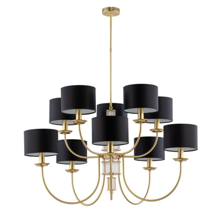 lighting room CERO modern chandeliers large 10 lights