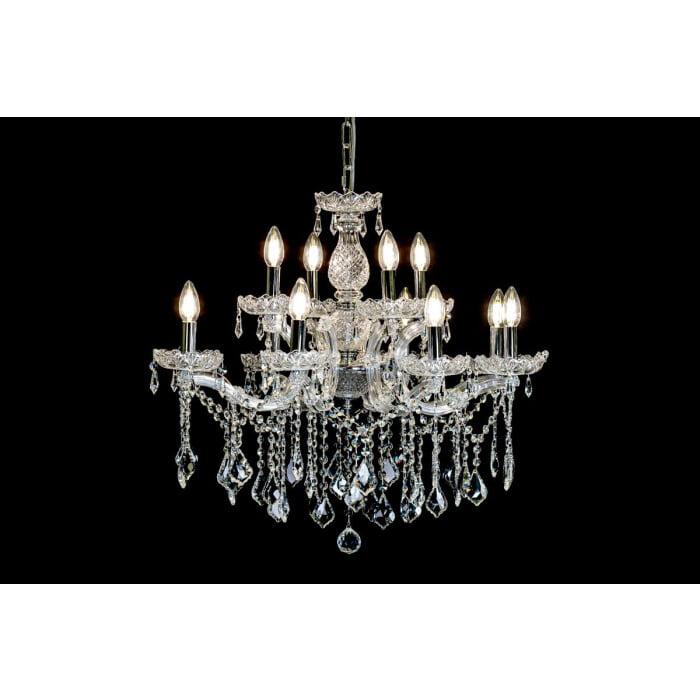 12 arm crystal chandelier maria theresa