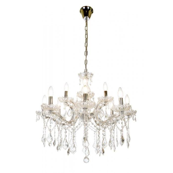 crystal lighting ceiling MARIA THERESA chandelier 2 tier