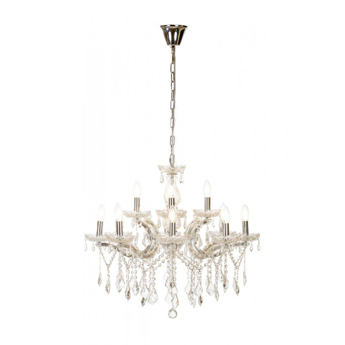 large crystal chandelier maria theresa 8+4