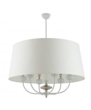 Lighting room NARNI extra large pendant light in white