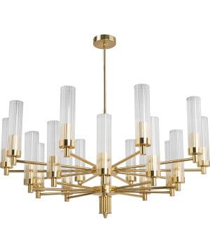 Lighting room seti 20 lights gold chandelier