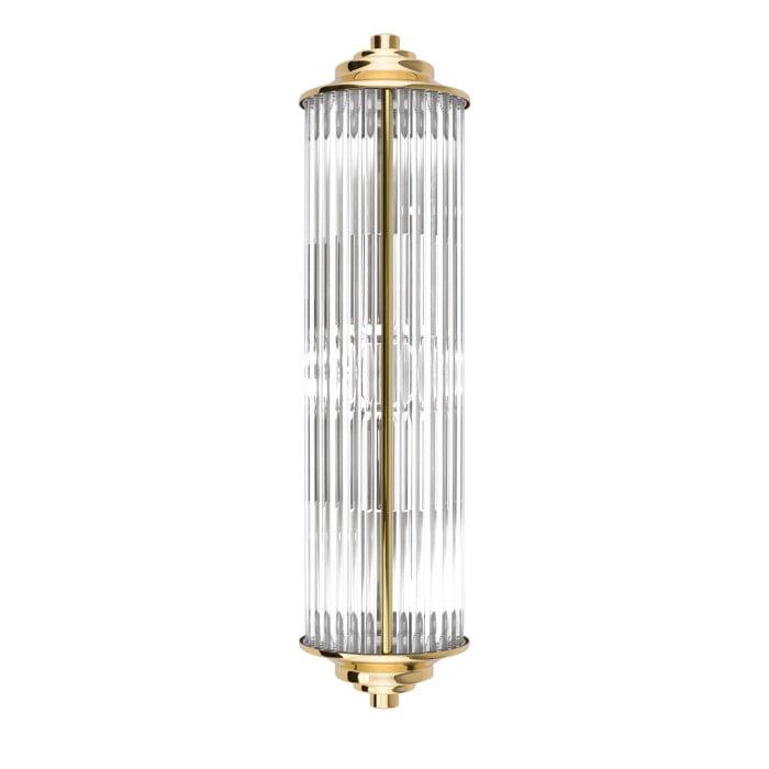 Lighting Room siri gold glass sconce light