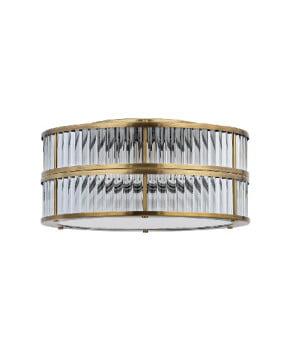 bespoke lighting lavone ceiling light in brushed brass
