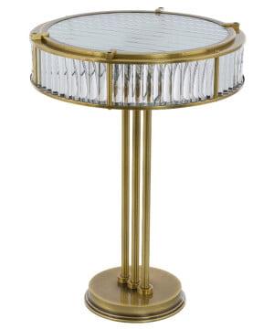 bespoke lighting lavone brushed brass table lamp