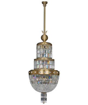 large crystal luxury brass pendant sienna nordic style with crystals