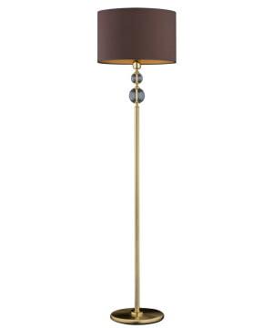 traditional floor lamp ZAFFIRO brass standing lamp