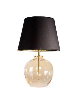 glass house timor amber glass table lamp
