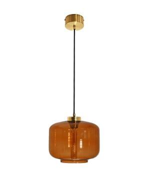 kitchen island lighting jawa glass shade pendant brass amber