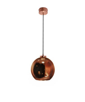kitchen lighting reunion m copper glass shade pendant light
