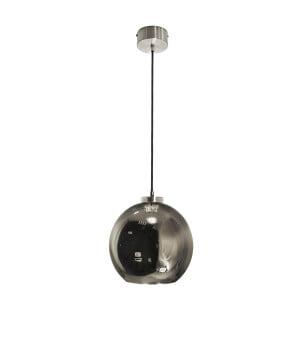 kitchen island lighting reunion m silver glass shade pendant light