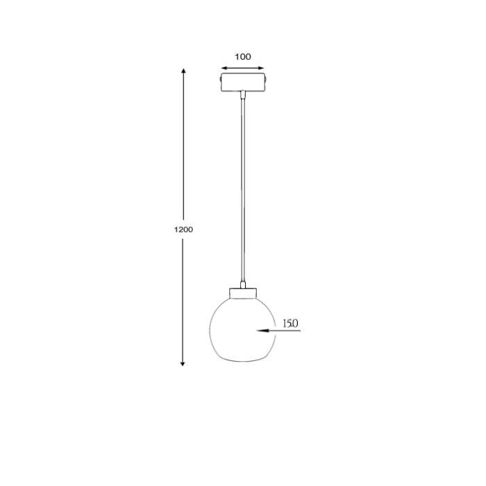 kitchen lighting reunion s glass shade pendant measurements